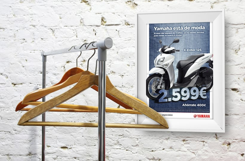 Co-branding Yamaha/Inditex  1