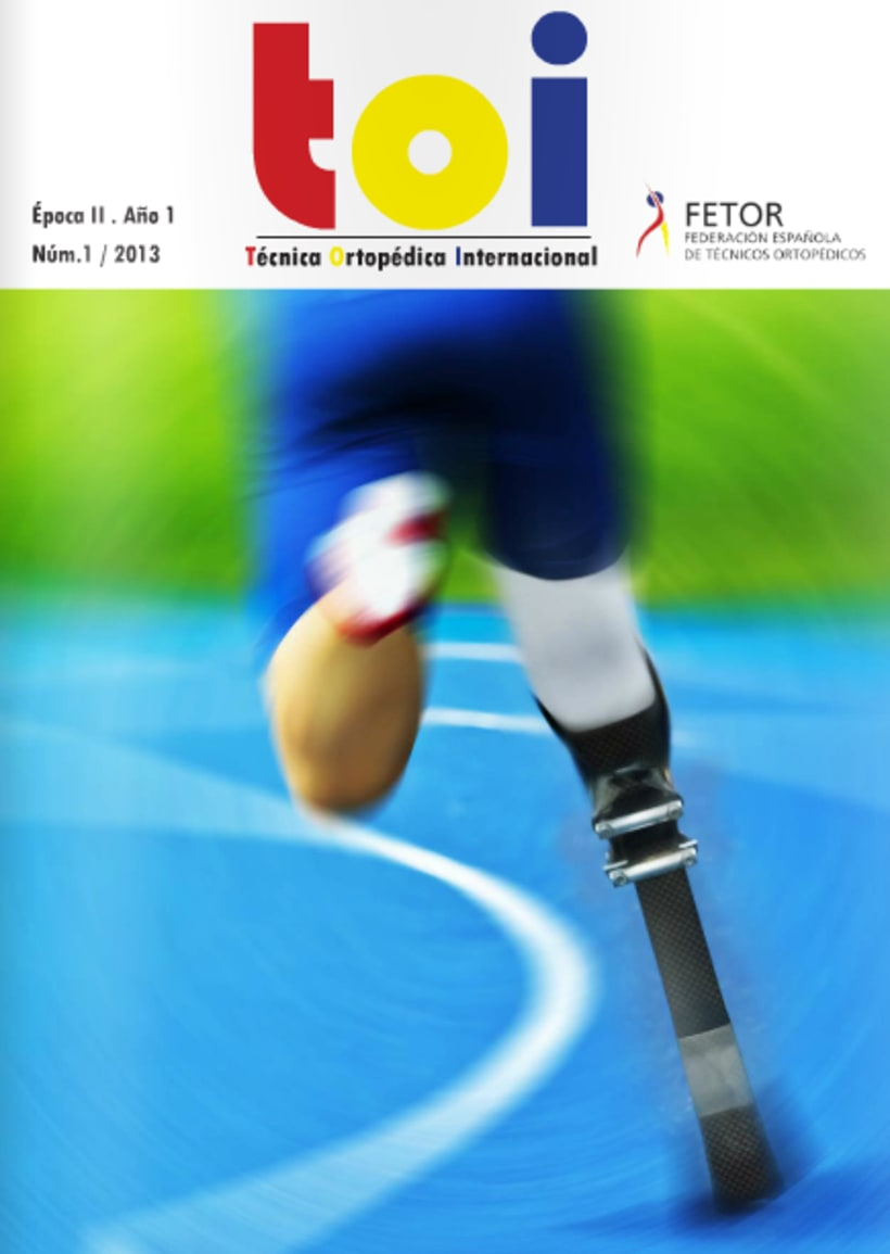 Diseño y maquetación de revista técnica FETOR 0