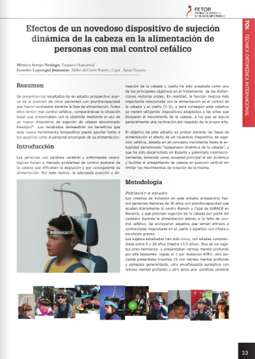 Diseño y maquetación de revista técnica FETOR 2