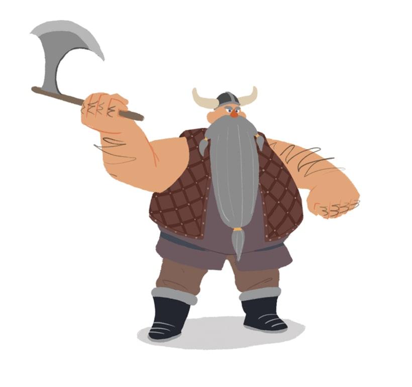 "Diseño personajes ""Vikingo"" 2"