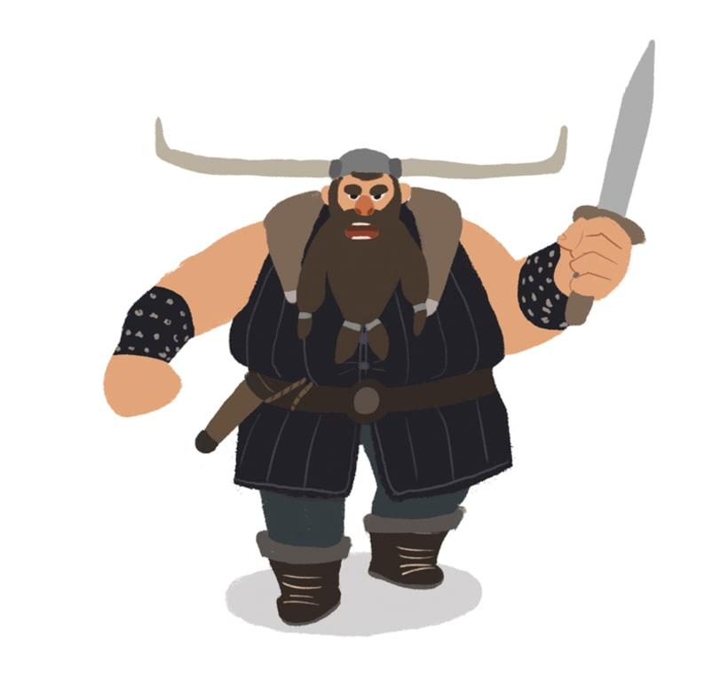 "Diseño personajes ""Vikingo"" 3"