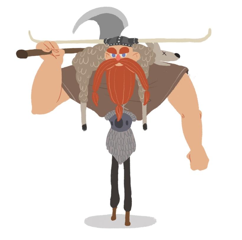 "Diseño personajes ""Vikingo"" 5"