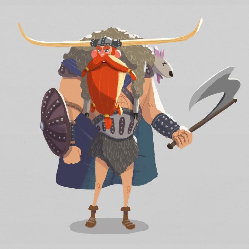 "Diseño personajes ""Vikingo"" 1"