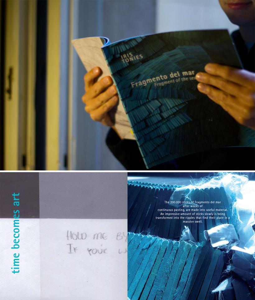 """Catálogo """"Fragmento de mar"""" 1"""