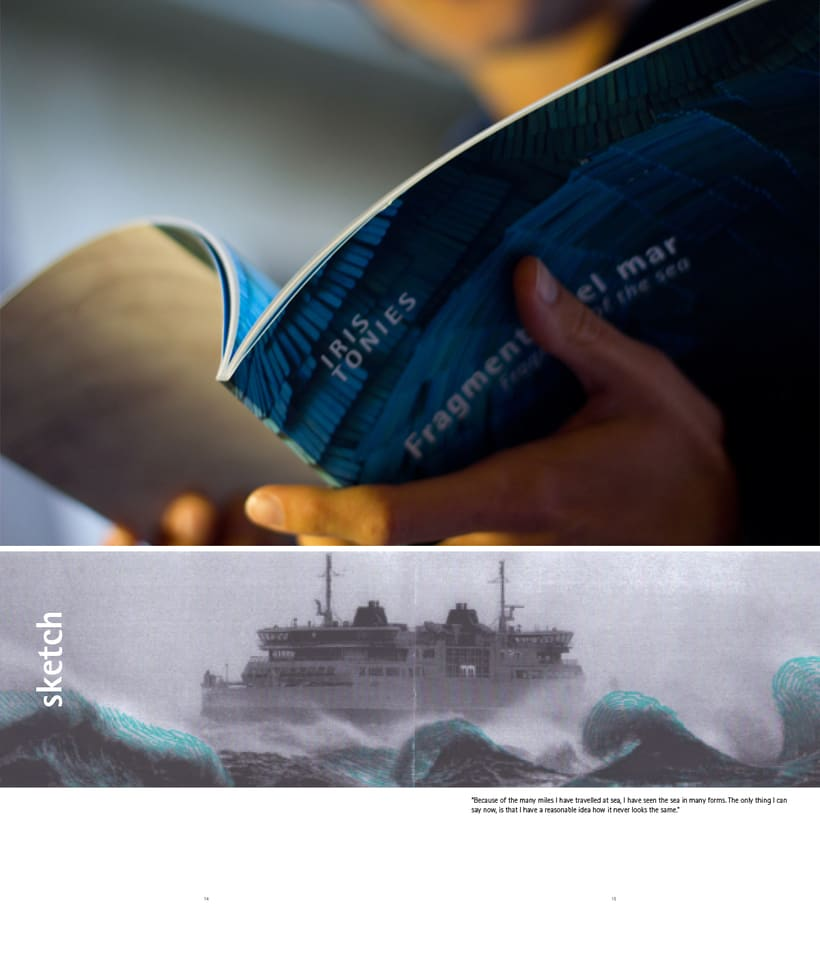 """Catálogo """"Fragmento de mar"""" 0"""