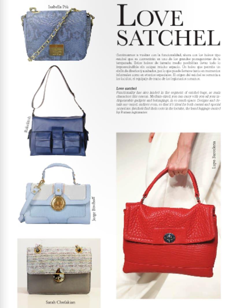 Maquetación de revista de moda 2