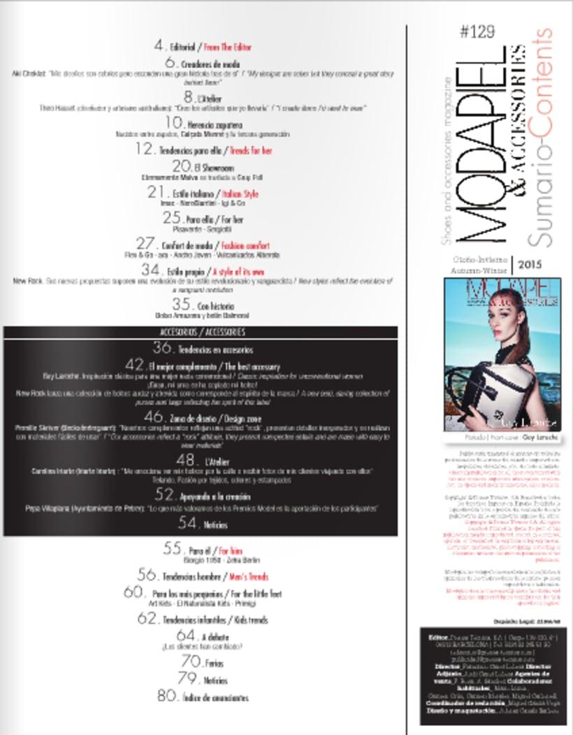 Maquetación de revista de moda 4