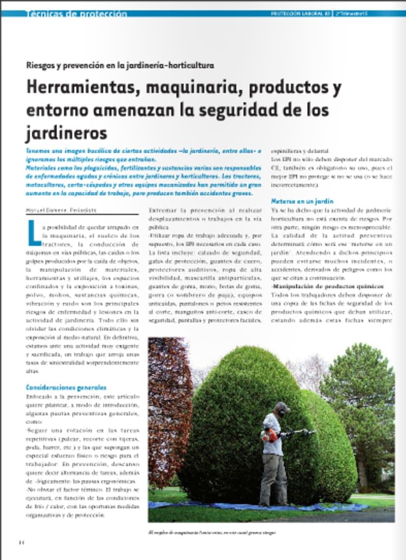 Diseño y maquetación de revista técnica para profesionales -1