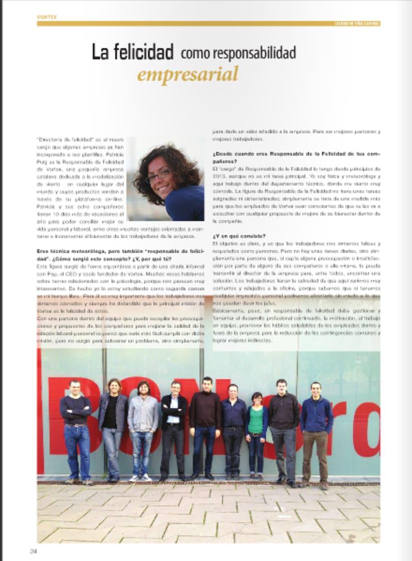 Diseño y maquetación de revista técnica para profesionales 0