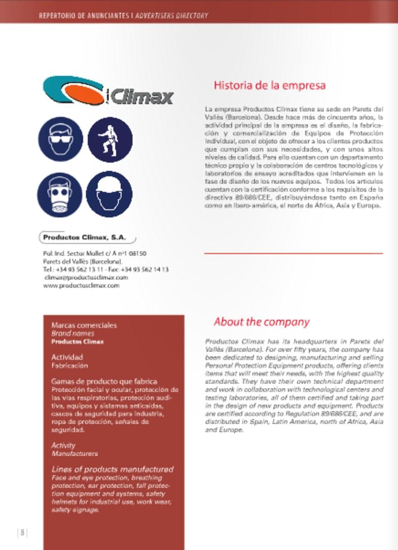 Diseño y maquetación de revista técnica para profesionales 5