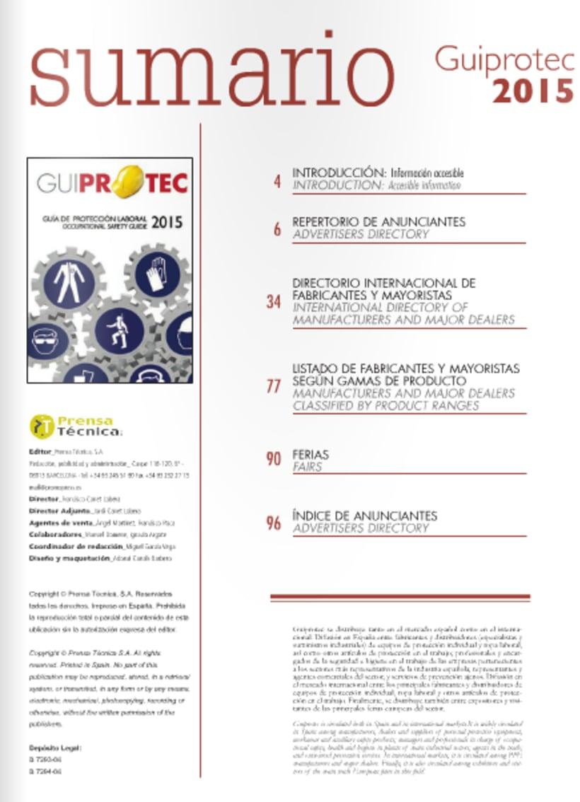 Diseño y maquetación de revista técnica para profesionales 6