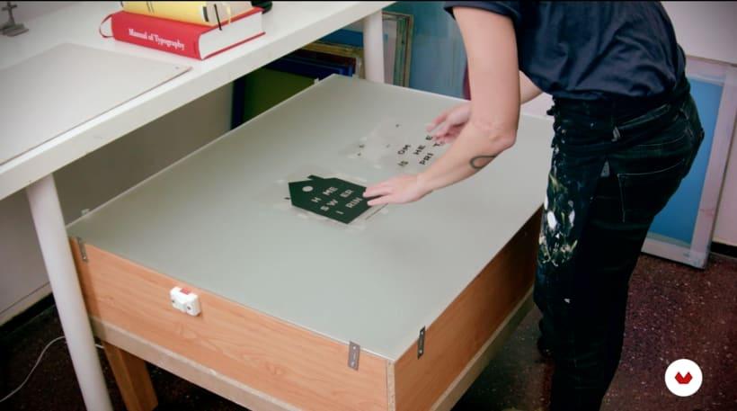 5 espacios básicos para tu taller de serigrafía por barbasilkscreenatelier 10