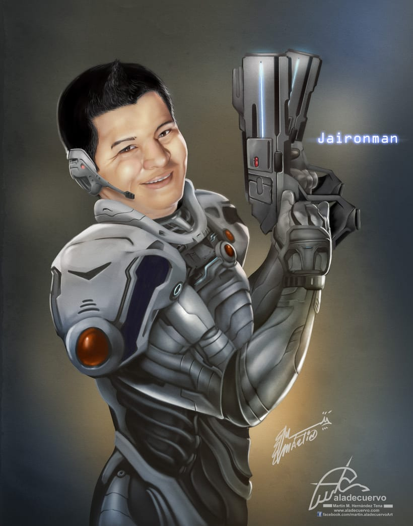 Jaironman retrato -1