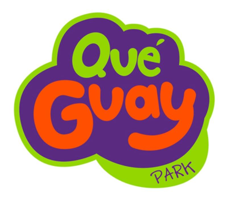 Qué Guay Park , marca corporativa e ilustracionesNuevo proyecto 0