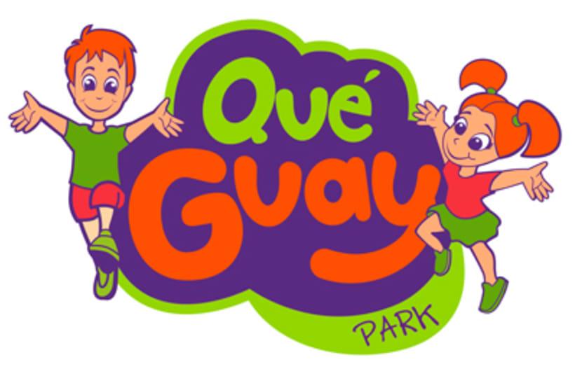 Qué Guay Park , marca corporativa e ilustracionesNuevo proyecto 1