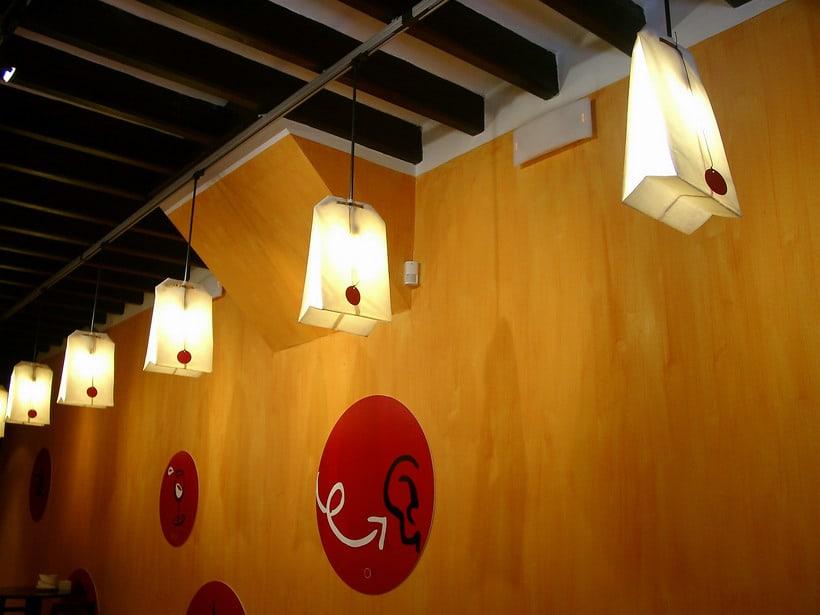 diseño de  luz para el restaurante MAKING TAPAS  palma de mallorca -1