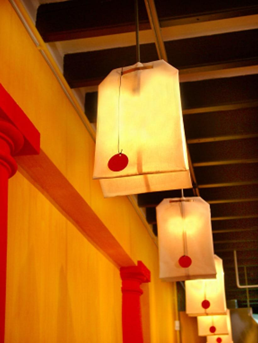 diseño de  luz para el restaurante MAKING TAPAS  palma de mallorca 0