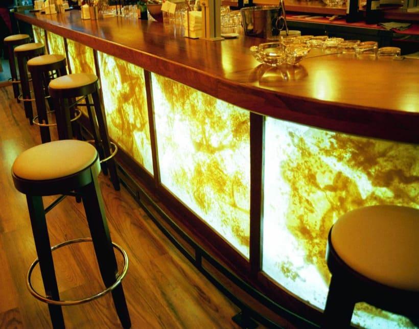 diseño de  luz para el restaurante MAKING TAPAS  palma de mallorca 1