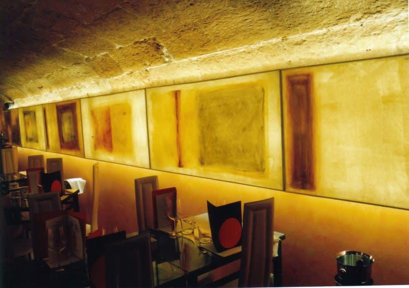 diseño de  luz para el restaurante MAKING TAPAS  palma de mallorca 2