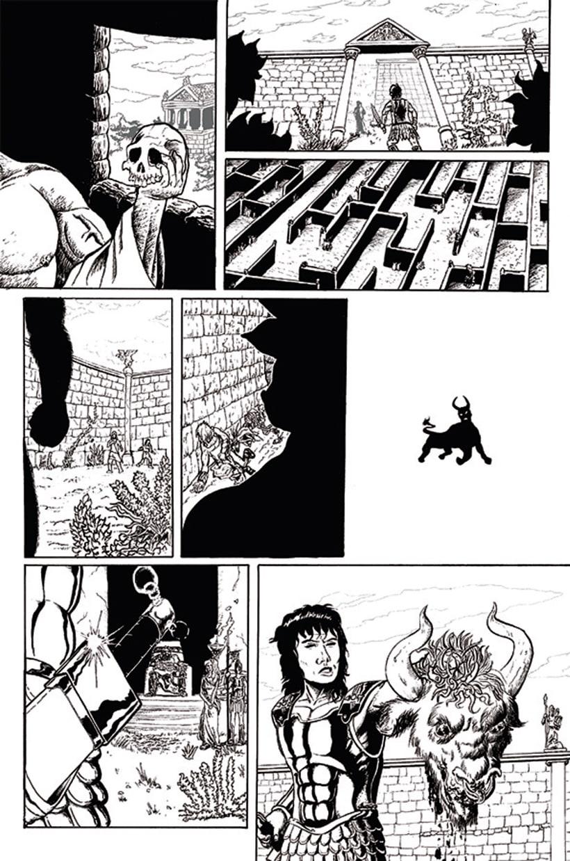 Páginas de Cómic. 2