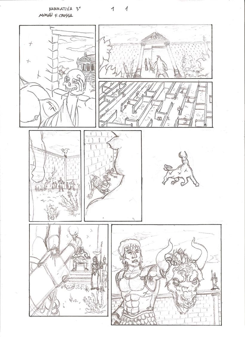 Páginas de Cómic. 3