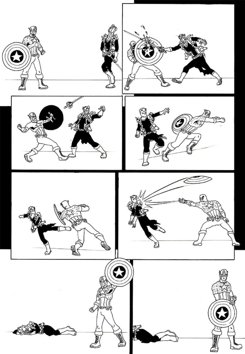 Páginas de Cómic. 4