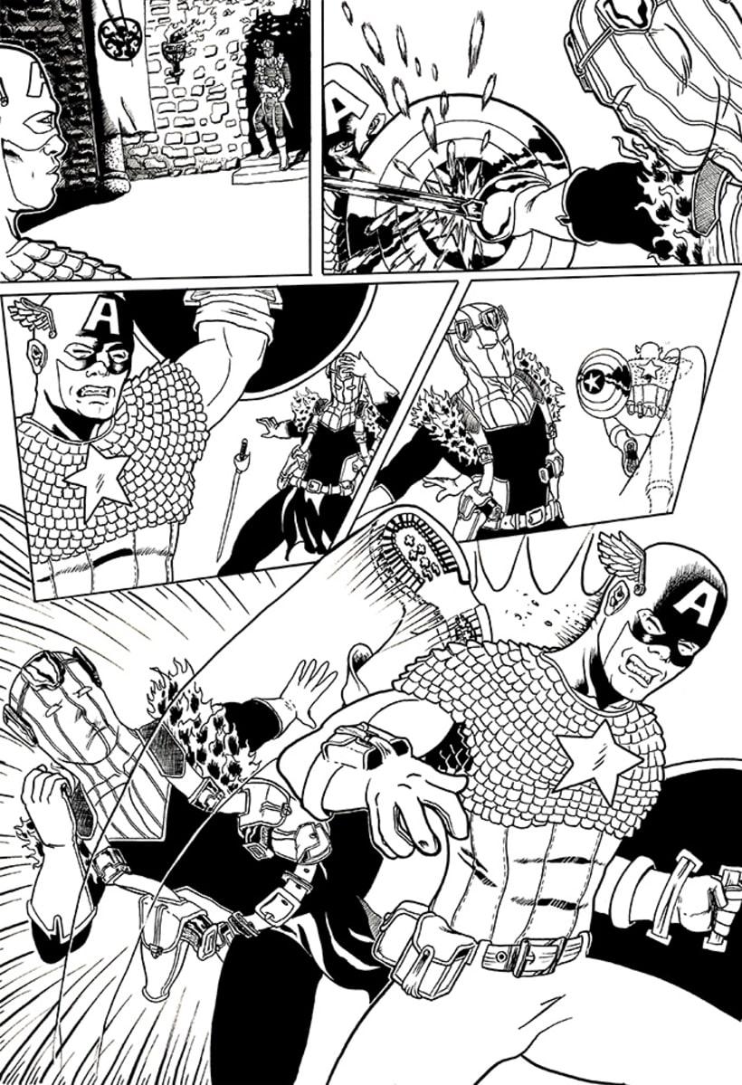 Páginas de Cómic. 5