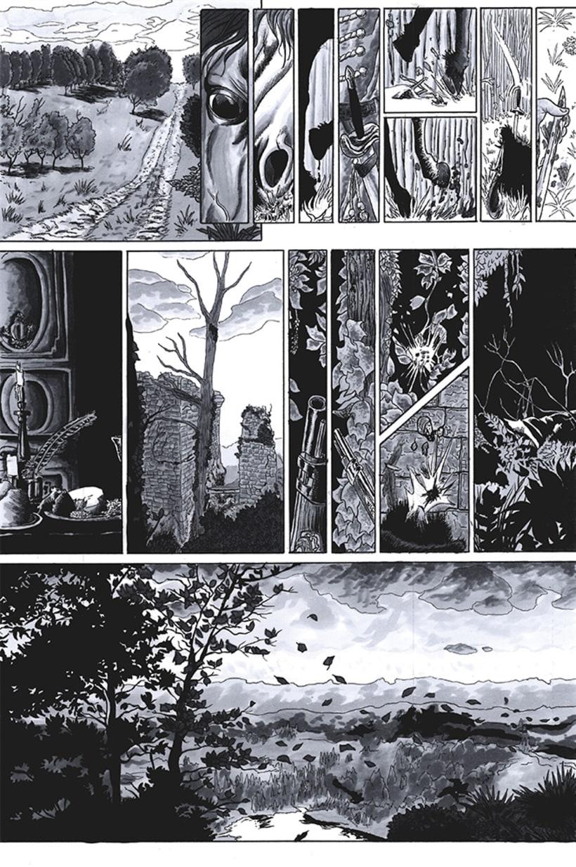 Páginas de Cómic. 1