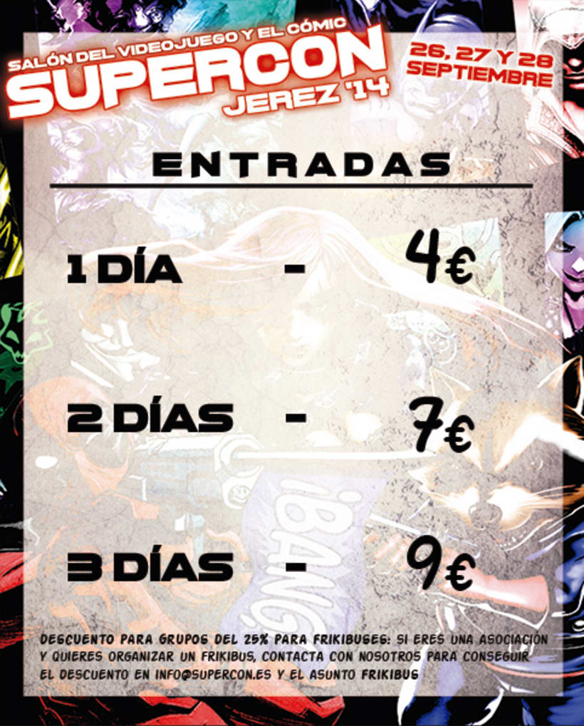 Diseño Gráfico (Eventos Supercon) 3