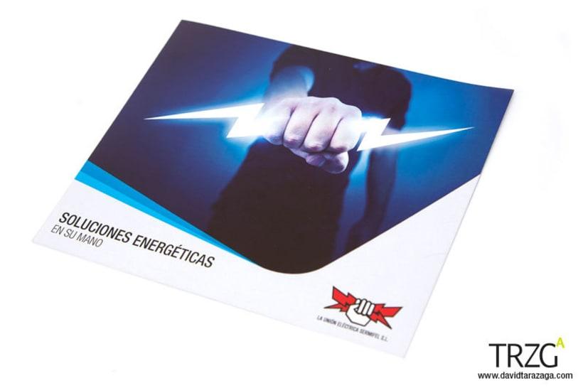 Folleto publicitario para la empresa La Unión Eléctrica 4