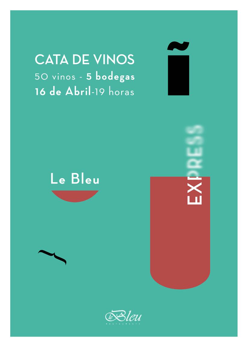 Propuesta de cartel cata | Diseño | Domestika