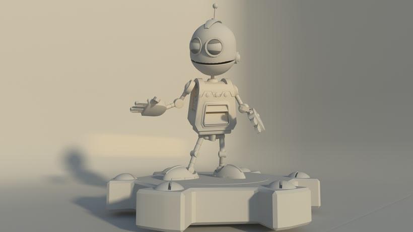 Clank, robot -1