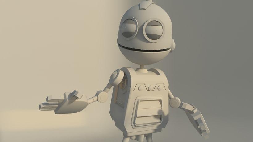 Clank, robot 0