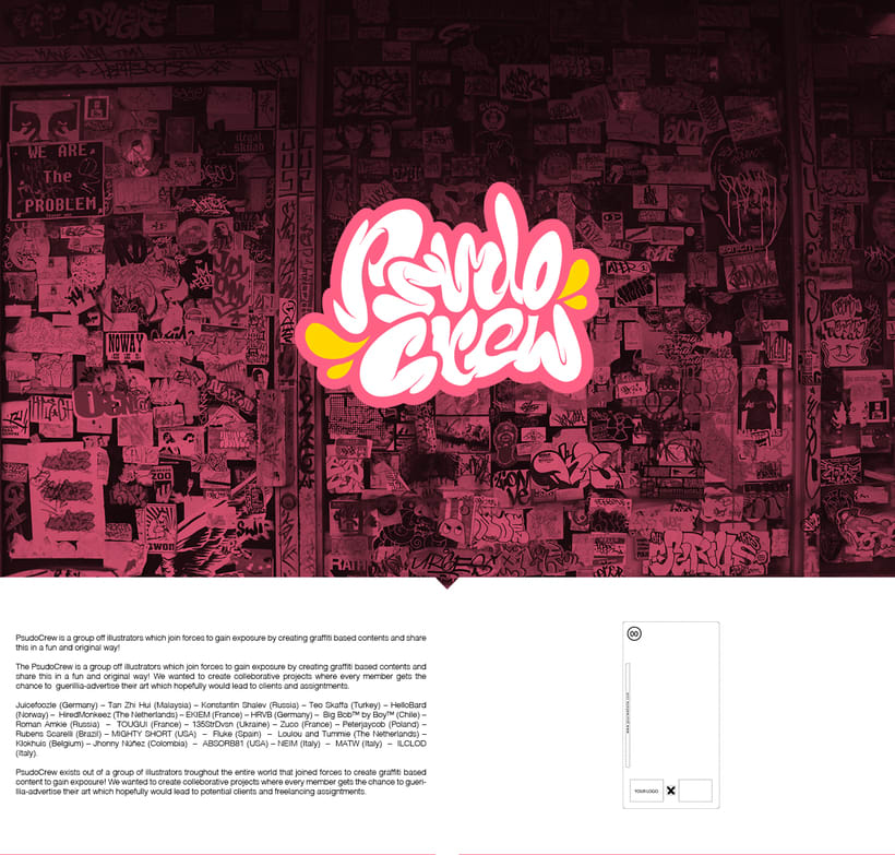 PSUDO CREW BUBBLE GUM -1