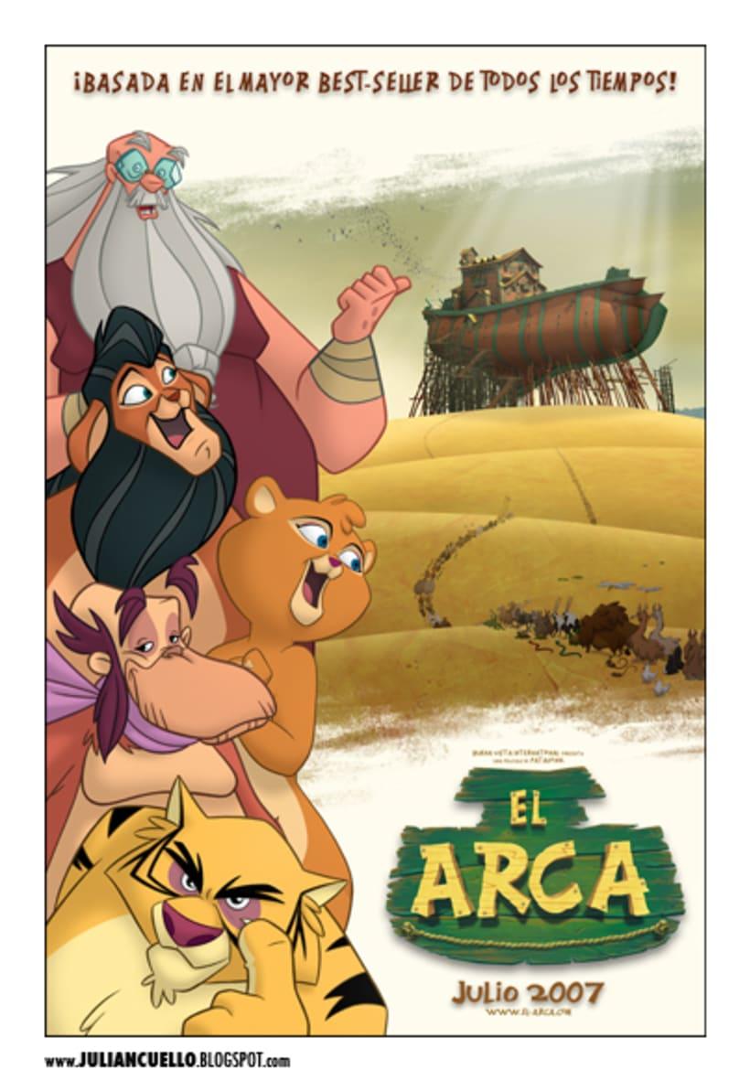 El arca - posters y grafica - 2