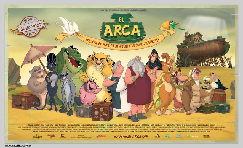 El arca - posters y grafica - 1