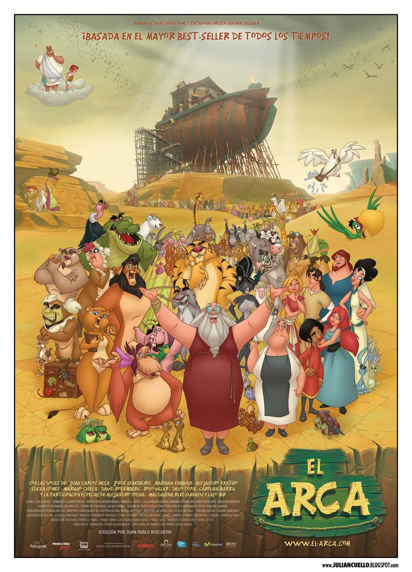 El arca - posters y grafica - 0