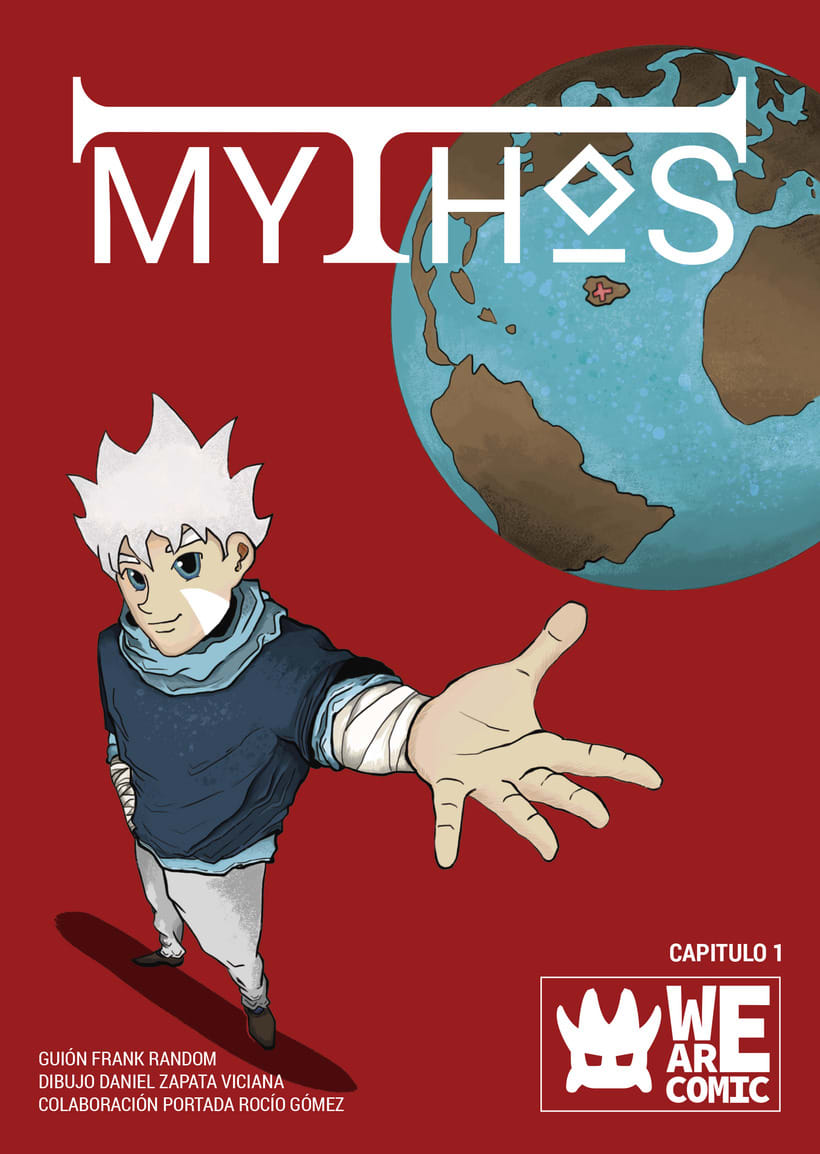 Mythos un cómic de We Are Comic 0