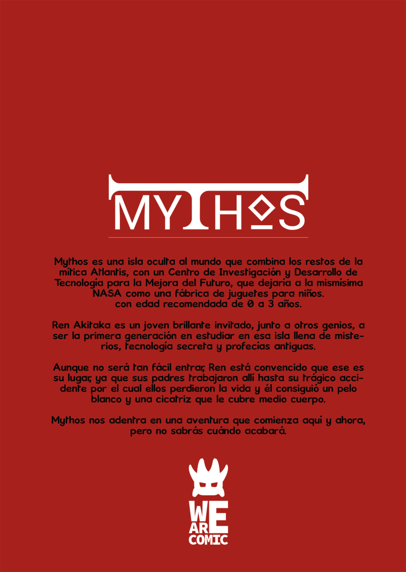Mythos un cómic de We Are Comic 1