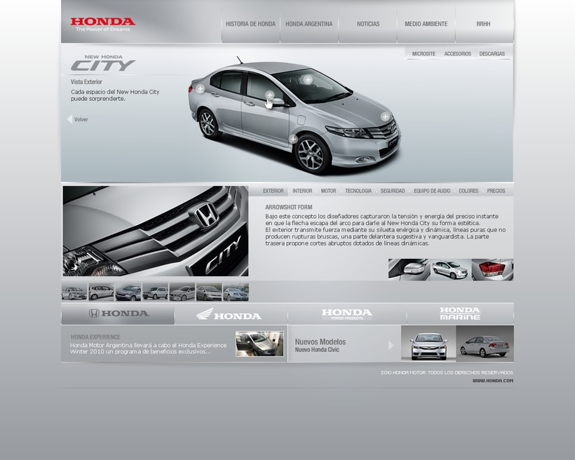 HONDA interfaz -1