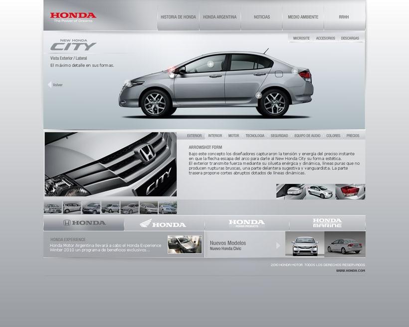 HONDA interfaz 0