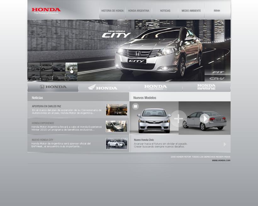 HONDA interfaz 1
