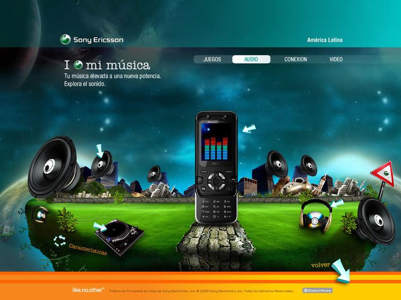 Sony Ericsson, amo jugar. 2