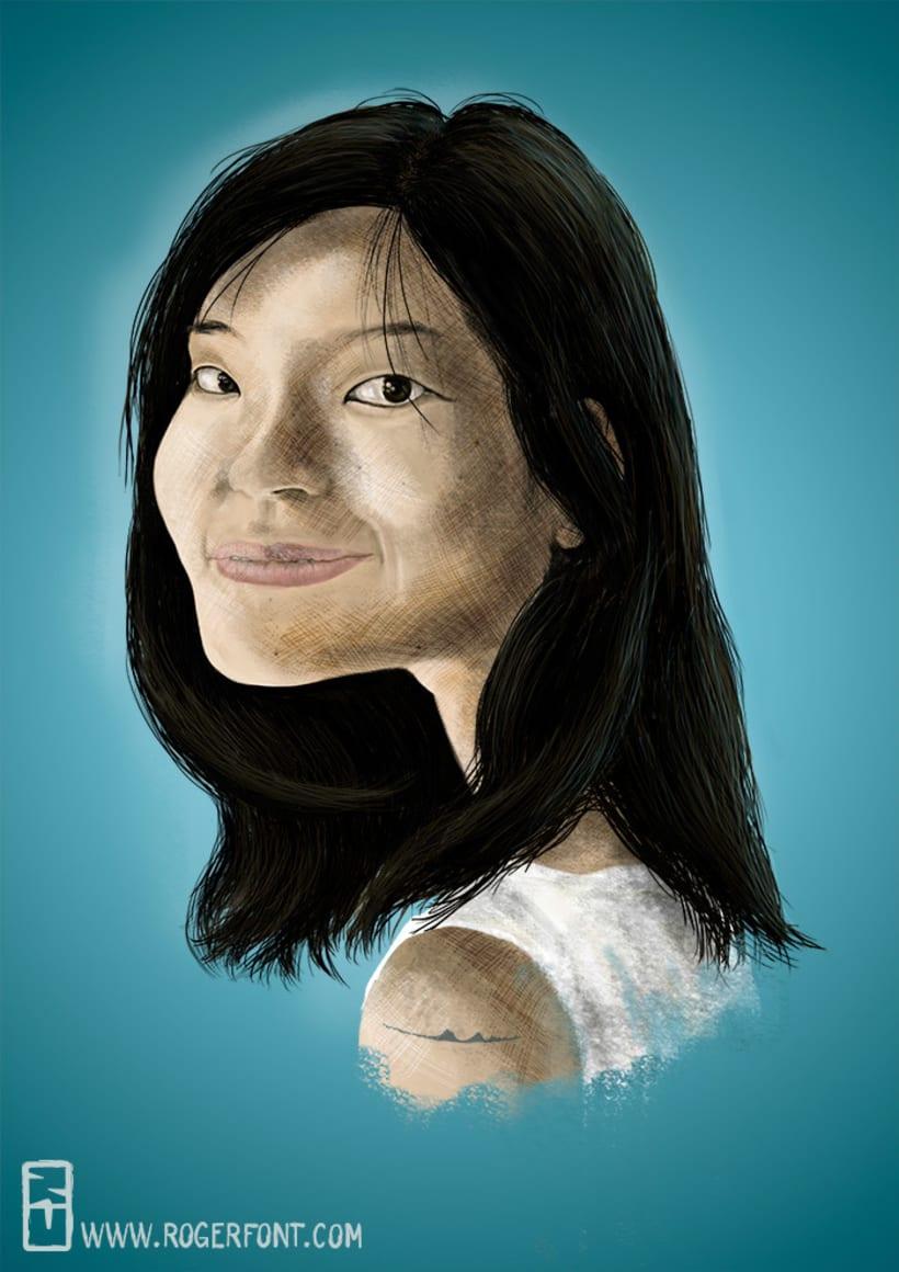 Retratos ilustrados 1