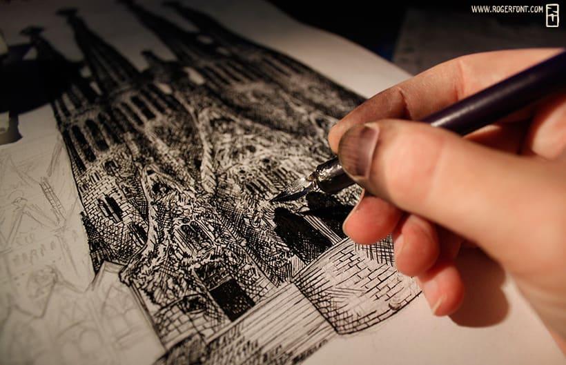 Ilustraciones en su tinta 1