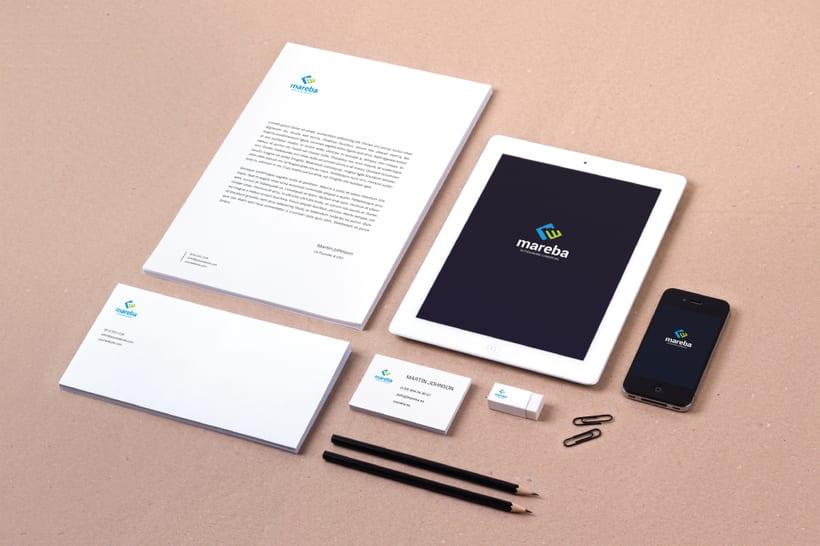 Mareba. Logo design 2