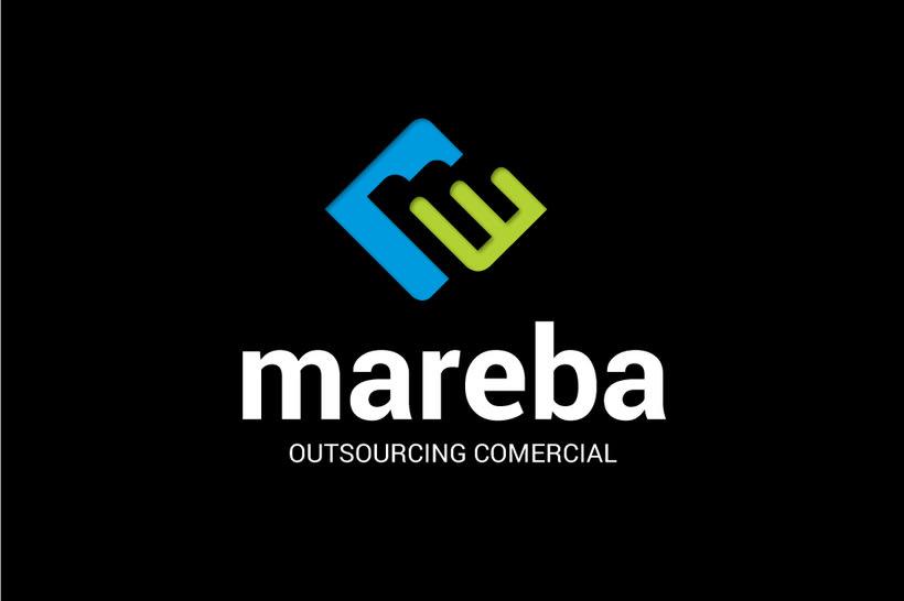 Mareba. Logo design 3
