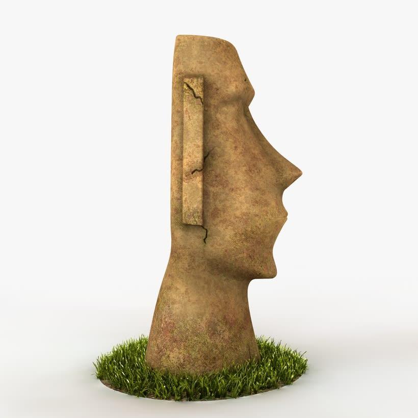 Moai 3D 0