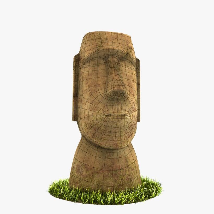 Moai 3D 1