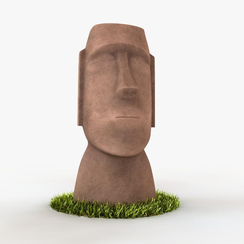 Moai 3D 3